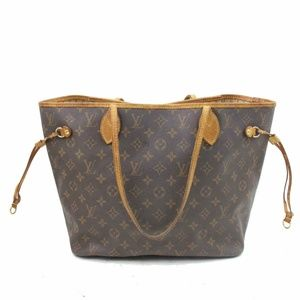 Auth Louis Vuitton Neverfull Mm Bag #1031L30